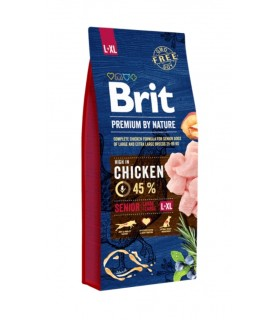 Brit Premium By Nature Senior L XL 15 Kg